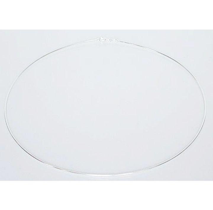 Halsreif Silber matt 1,4 mm