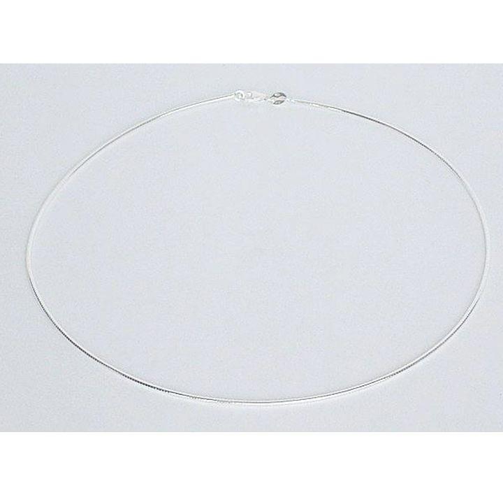 Halsreif Silber poliert 1,4 mm