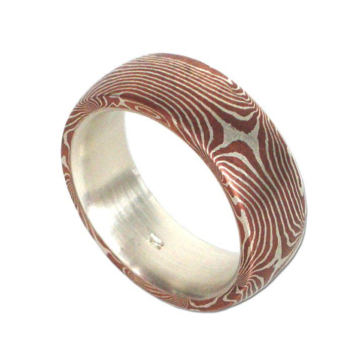"""Ring """"Mokume Gane"""""""