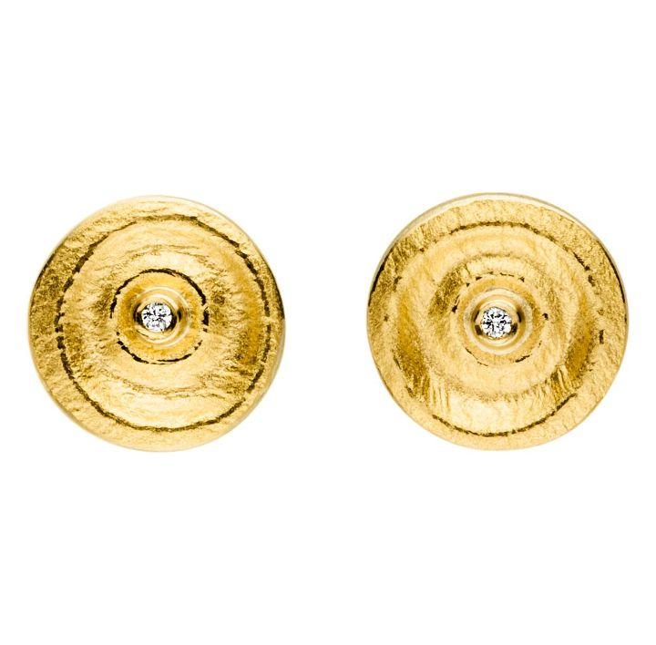 Ohrstecker Silber/Gold