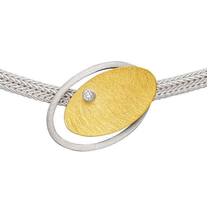 Halsschmuck Silber/Gold