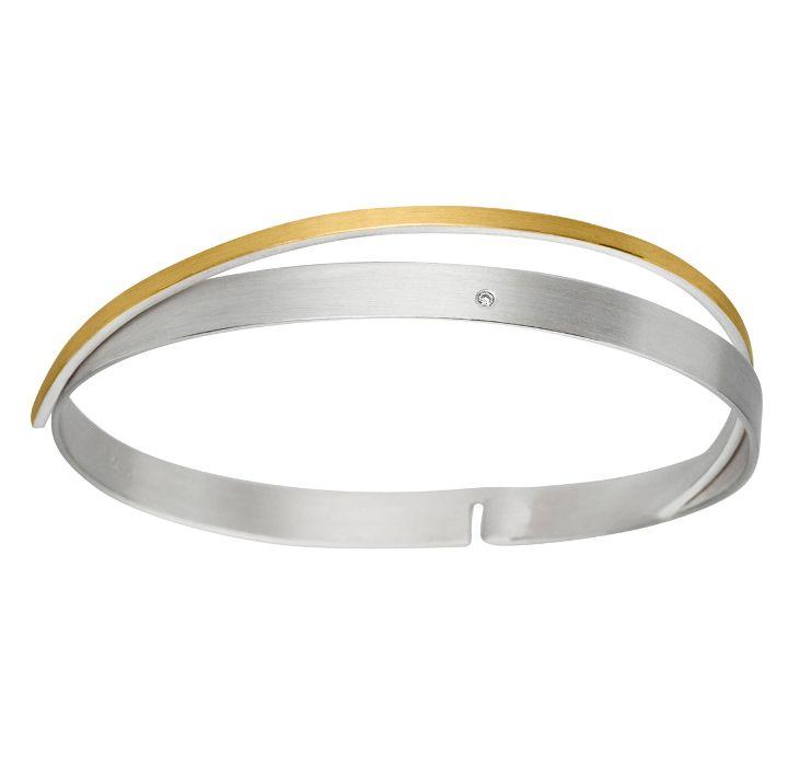 Armreif in Silber/Gold