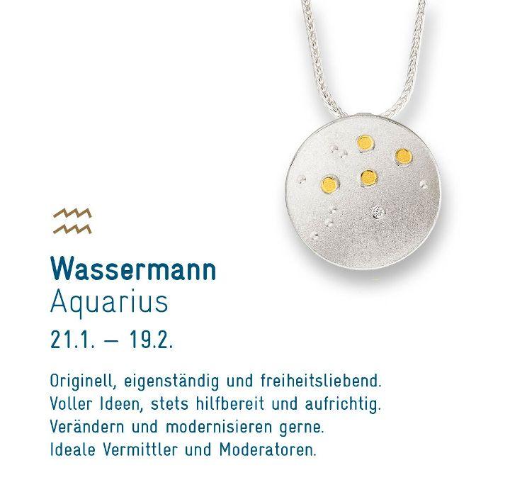 """Sternenschmuck """"Wassermann"""""""