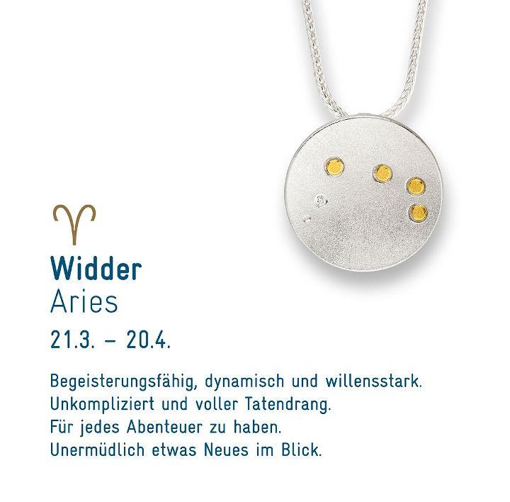 """Sternenschmuck """"Widder"""""""