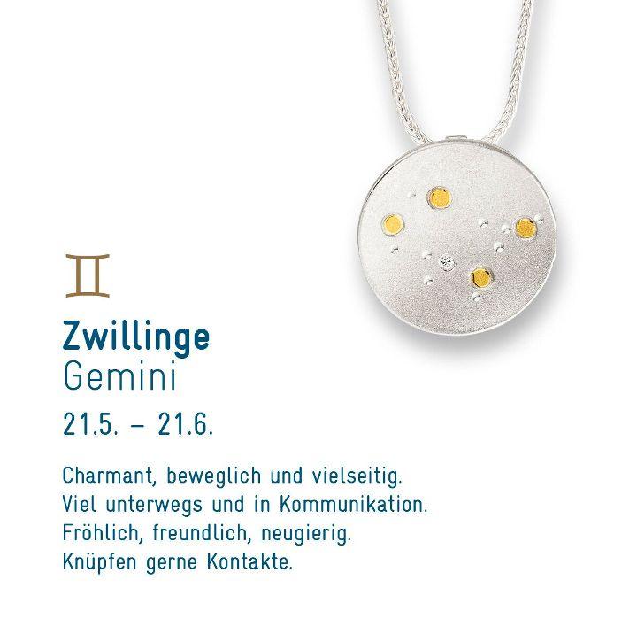 """Sternenschmuck """"Zwilling"""""""