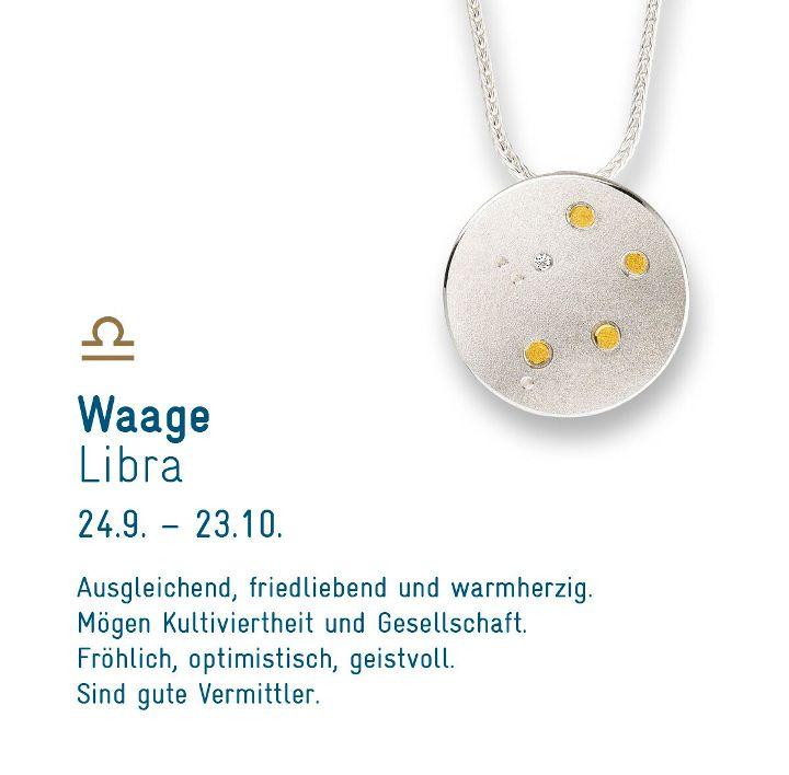 """Sternenschmuck """"Waage"""""""