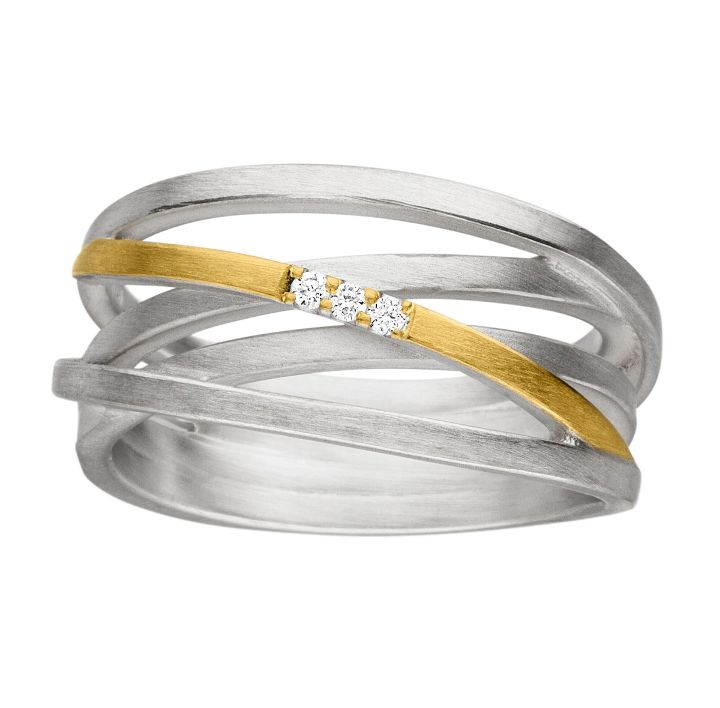 Ring Silber/Gold