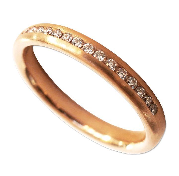 Memoire-Ring in Roségold