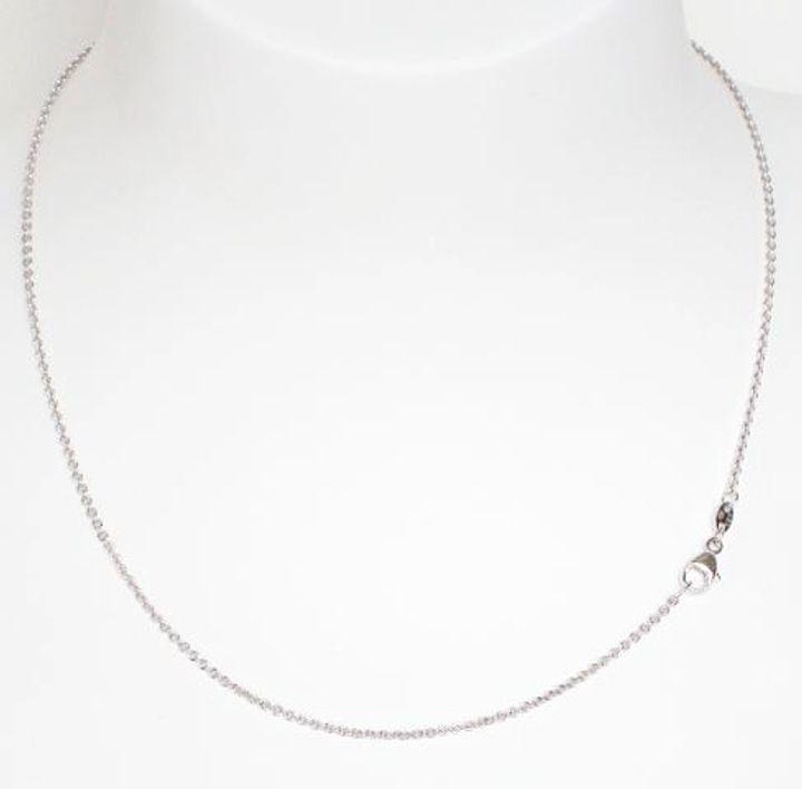 Ankerkette Silber 1,3 mm